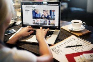 52403785 - lastest article webpage advertising announcement concept